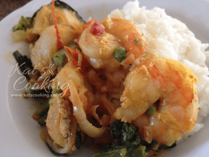 Shrimp and Fish Curry