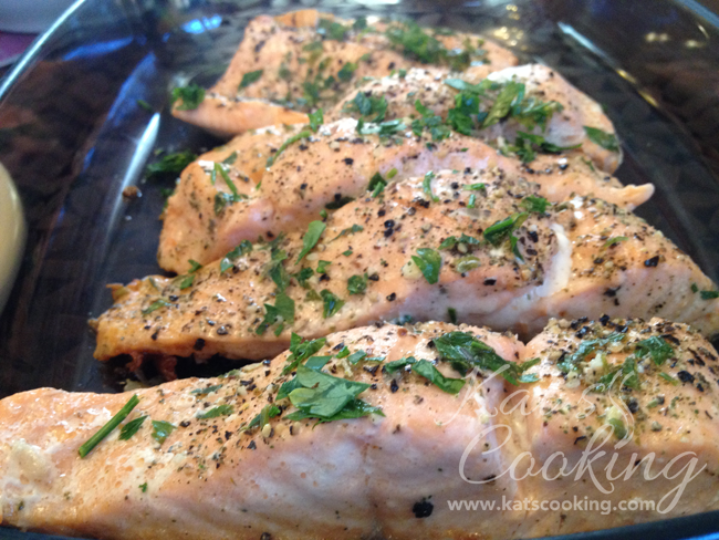 Pan Seared Salmon Fillets