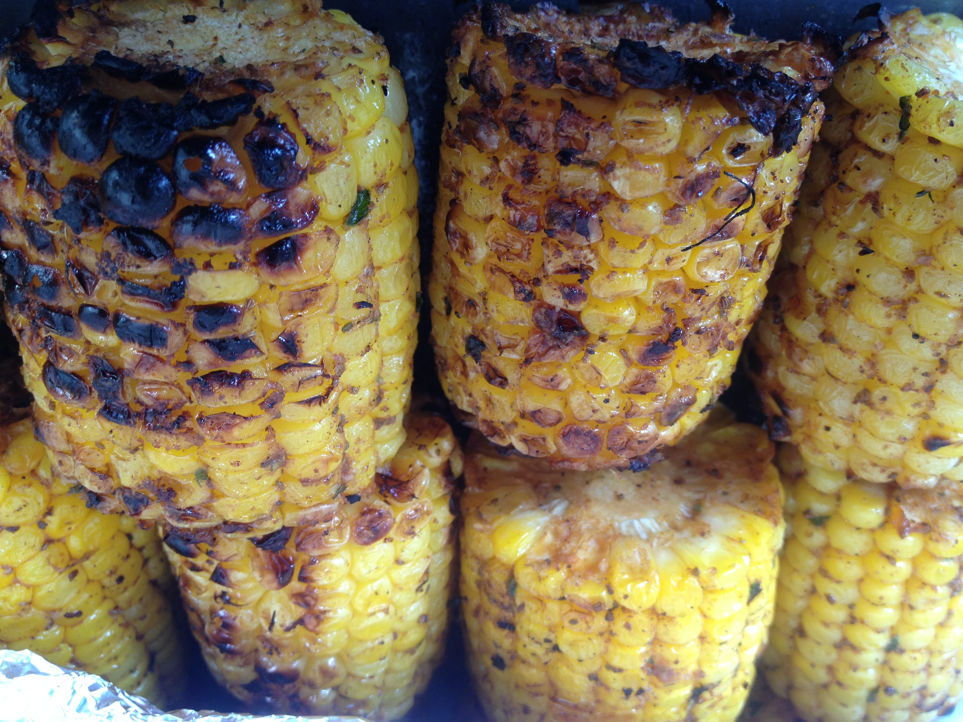 Roasted Sweet Corn (Old Bay Style)