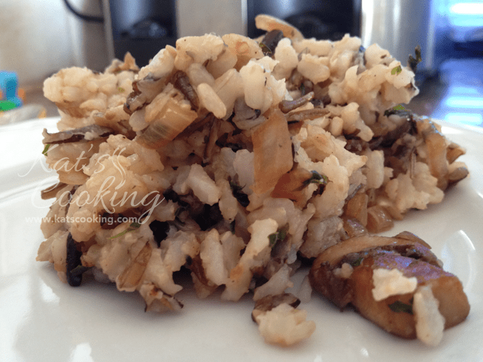 Savory Brown and Wild Rice